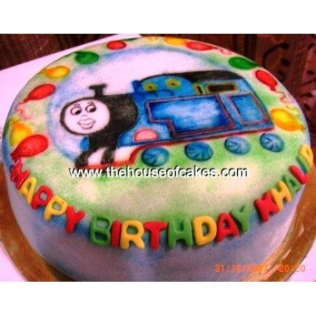 Thomas Tank Cake