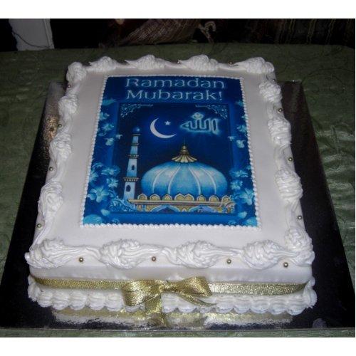 Ramadan Mubarak Cake