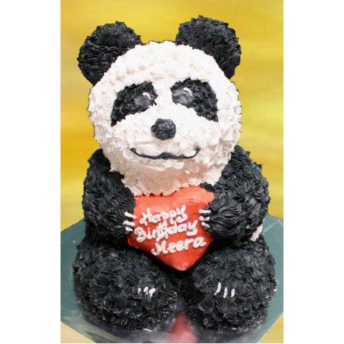 3D Panda Cake