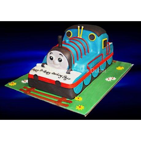 Thomas The Engine Cake 2