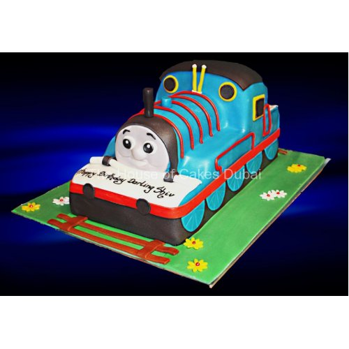 Thomas The Engine Cake 2