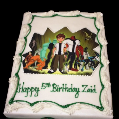 Ben 10 Cake with photo 2