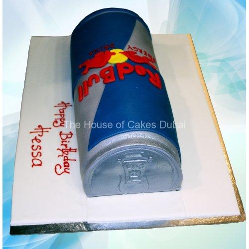cake red bull 8