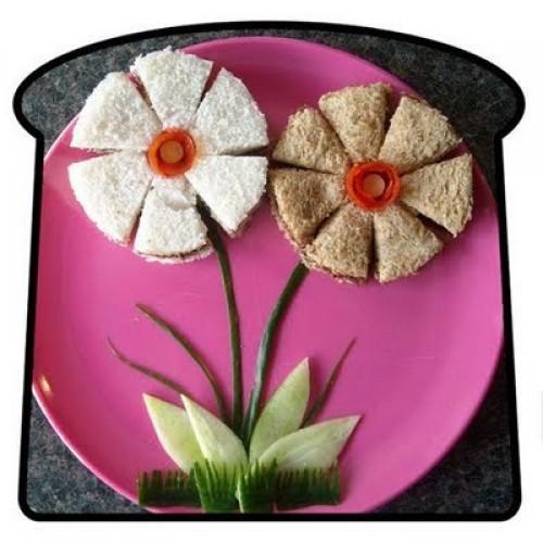 flowers sandwich 7