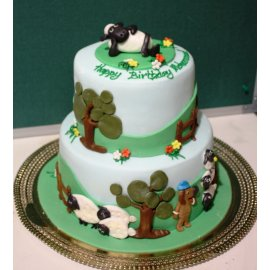 Wondrous Shaun The Sheep Cake Funny Birthday Cards Online Benoljebrpdamsfinfo