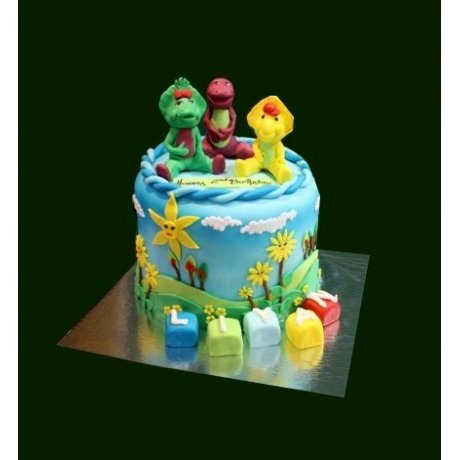 Barney Cake 20