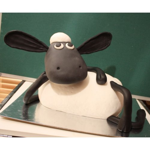 3 D Shaun The Sheep Cake