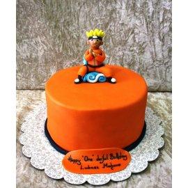 Excellent Cake Naruto Personalised Birthday Cards Akebfashionlily Jamesorg