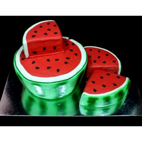 watermelon cake 7