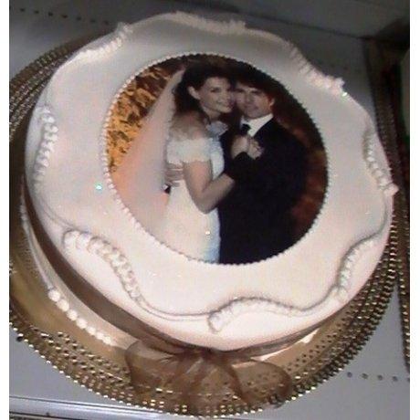 Round Cake with photo