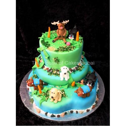 Animals Cake 2