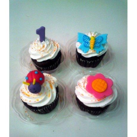 1st Birthday Cupcakes