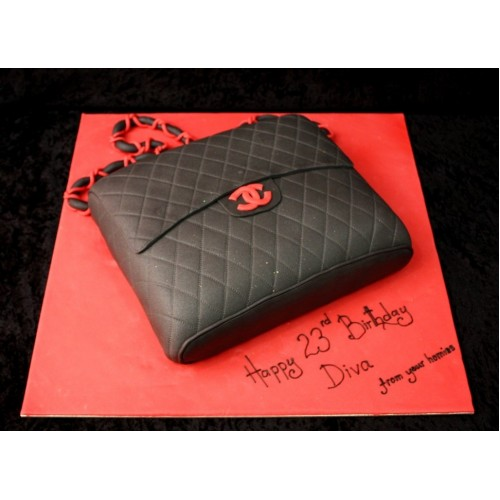 Chanel Bag Cake 8