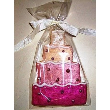 Pink Cake Cookies