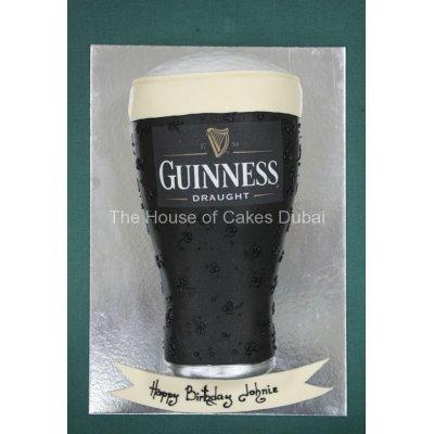 Guinness beer cake