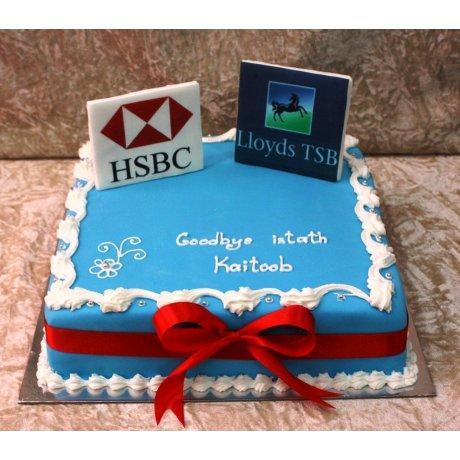 HSBC & Lloyds Cake