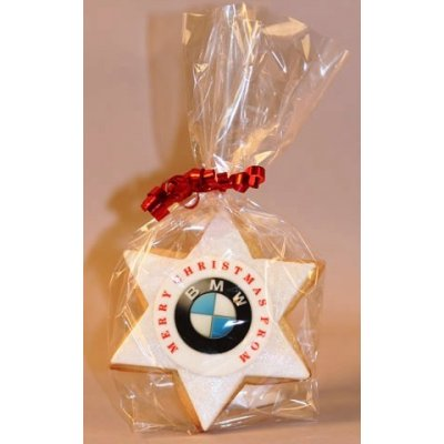 Star Cookies with logo