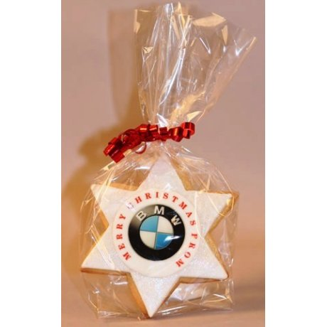 star cookies with logo 6