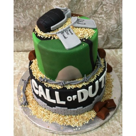 call of duty cake 7