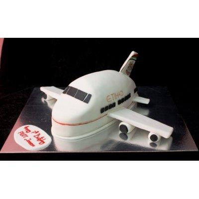 Etihad Plane Cake