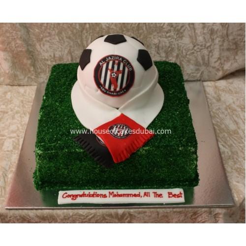 Al Jazira Club cake