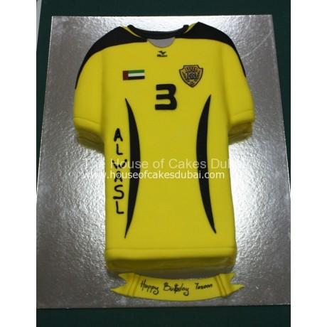 al wasl shirt cake 6