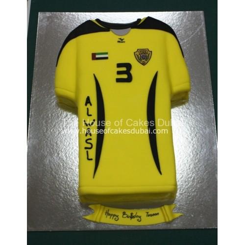 al wasl shirt cake 7