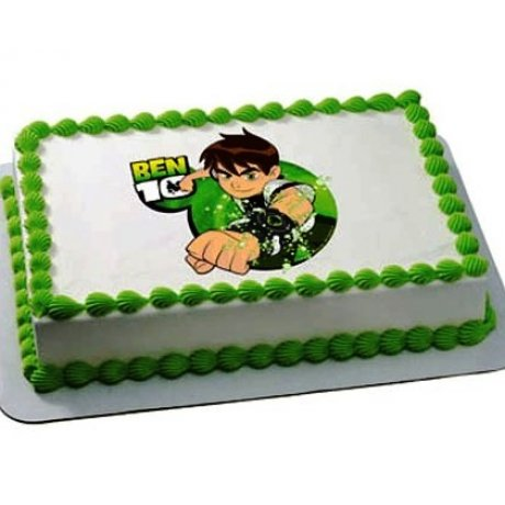 ben 10 cake with photo 3 6