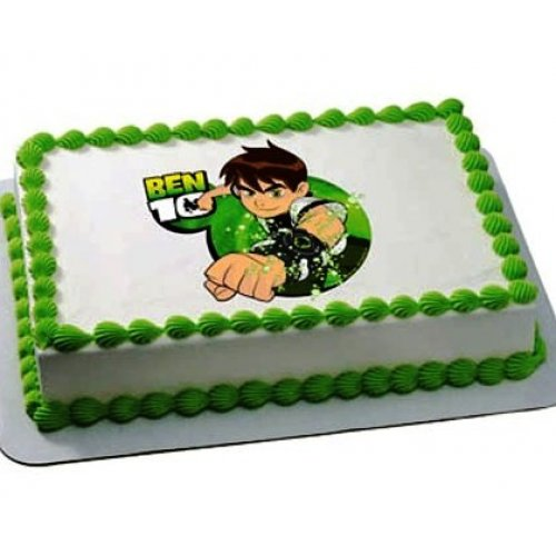 ben 10 cake with photo 3 8