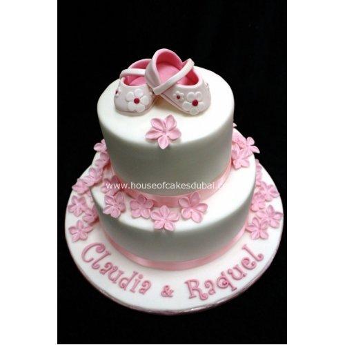 Baby girl cake 2