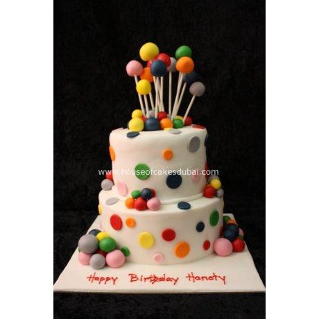 Balls cake 2