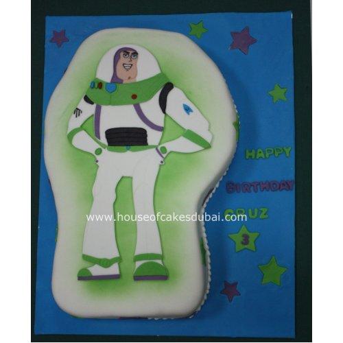 Buzz Lightyear cake 2