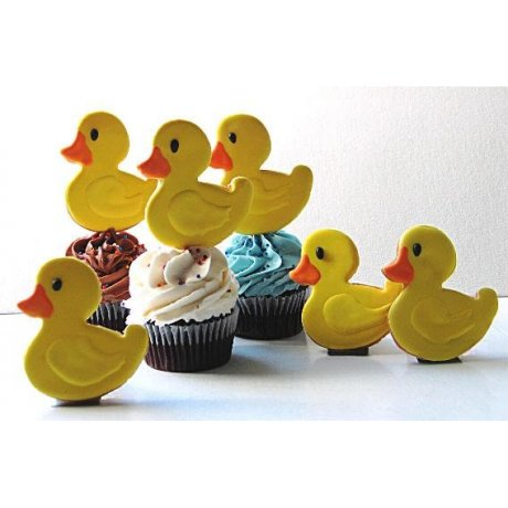 rubber duck cupcakes 6