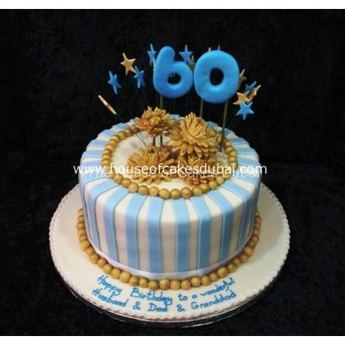 Marvelous 60Th Birthday Cake 2 Funny Birthday Cards Online Elaedamsfinfo