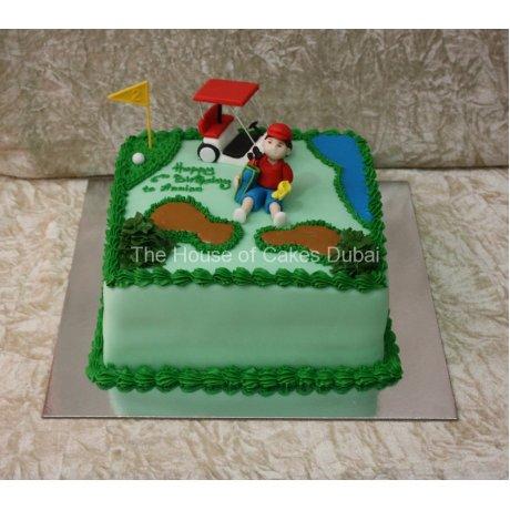 Golf cake 6