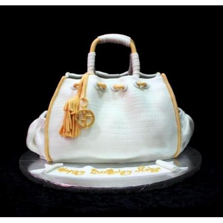 armani bag cake 6