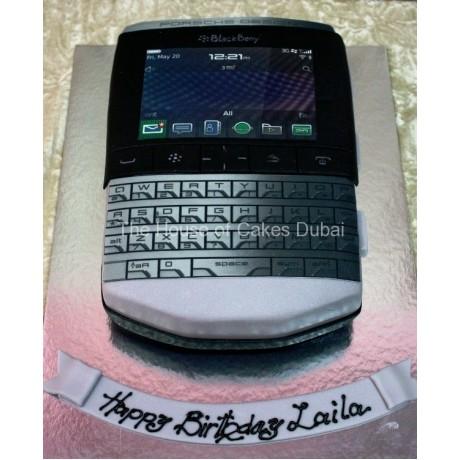 Blackberry porshe design cake
