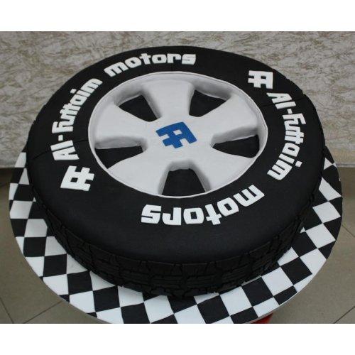 Al Futtaim Motors Tire cake