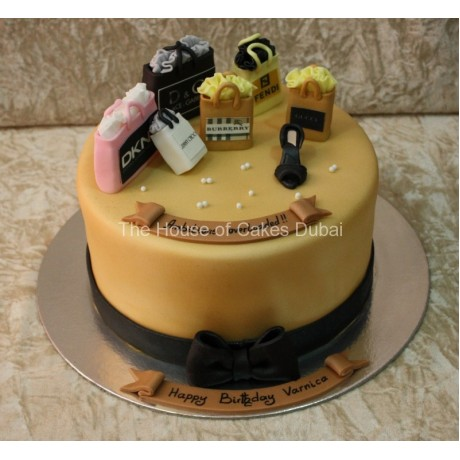 Born to shop cake 3