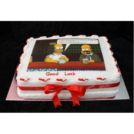 Simpsons cake