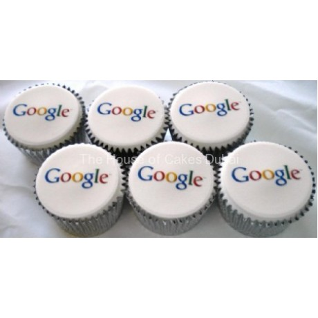 copmany logo cupcakes 6