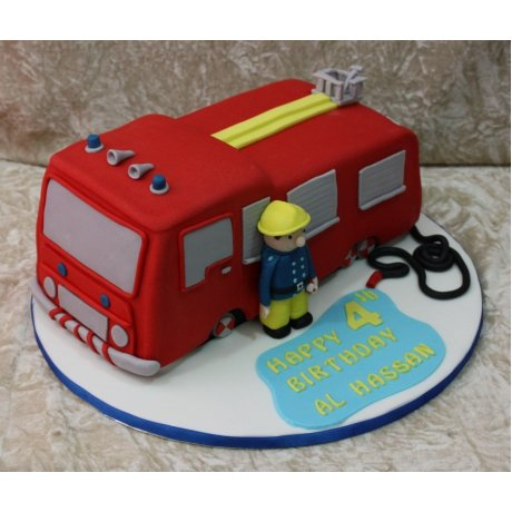 fireman sam cake 7