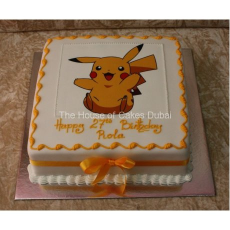 Pokemon cake 2