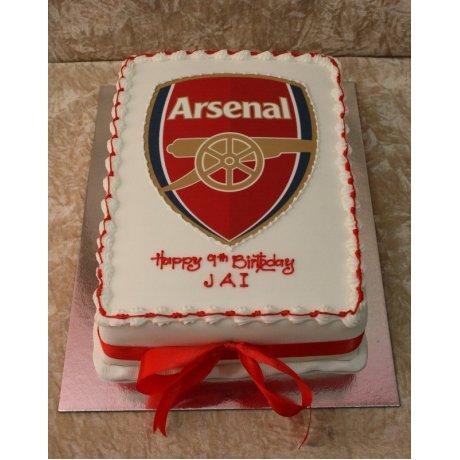 Arsenal cake 3