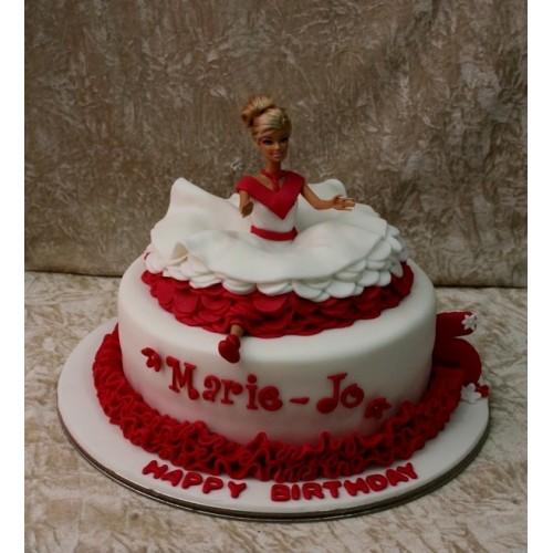 Ballerina Cake 4