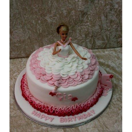 Ballerina Cake 6