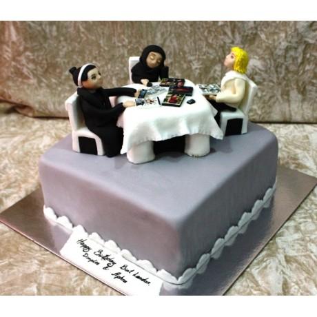 Arabic ladies cake