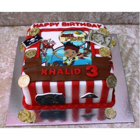 Jake Neverland Pirates cake 3