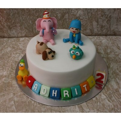 Pocoyo cake 1