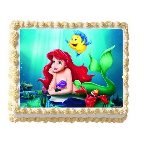 ariel cake with photo 5 6